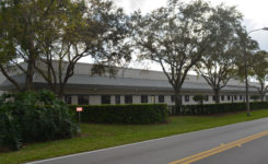 Photo of long warehouse and office building in Sanford Florida