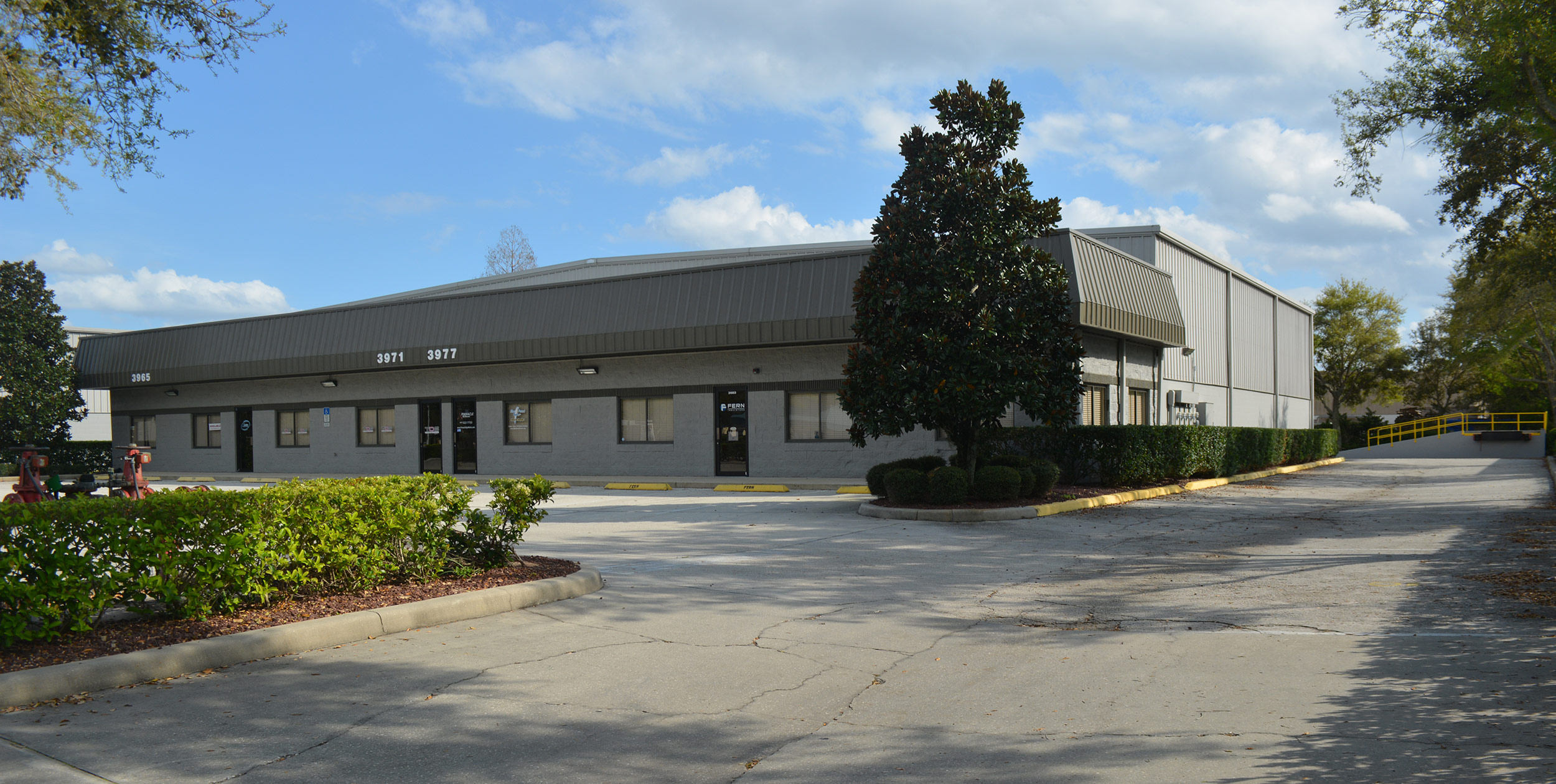 Office Space with Warehouse for Lease Sanford Florida